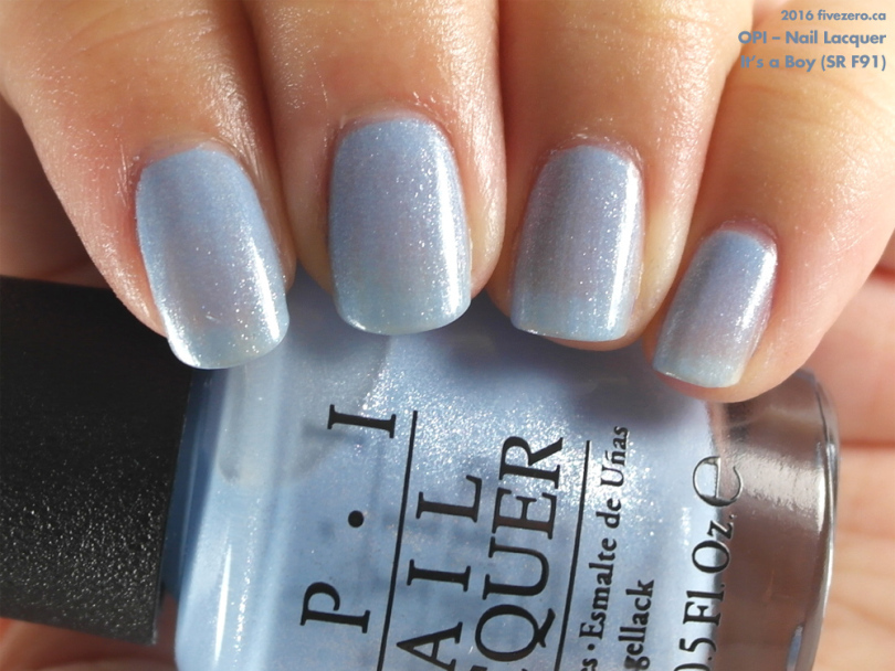Opi Nail Lacquer In It S A Boy Sr F91 Swatch