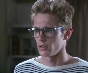james dean, james franco, and glasses image