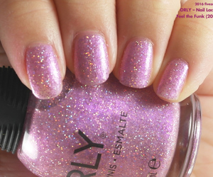 glitter, lavender, and sheer image