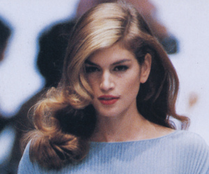 cindy crawford and 90s image