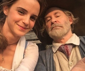 emma watson, beauty and the beast, and belle image