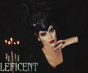 Halloween, nicole guerriero, and make up image