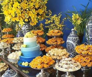 amarelo, festa, and decoração de festas image