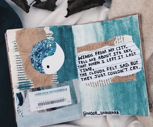 journal and art image
