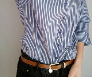 belt, blue, and chemise image