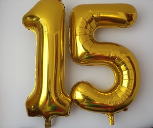 15, special day, and birthday image