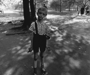 black and white, child, and Diane Arbus image