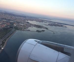 airplane, amazing, and beautiful image