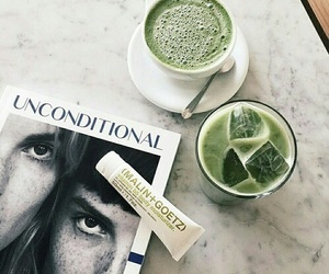 green, drink, and aesthetic image