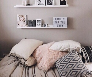 beautiful, cute, and bed room image