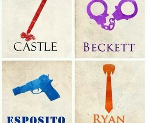 castle, funny, and richard castle image