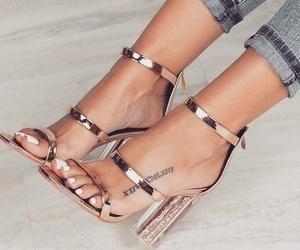 fashion, glam, and heels image