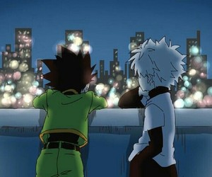 killua, gon, and anime image