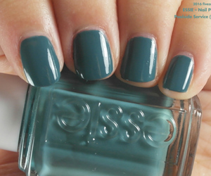 blue, green, and essie image