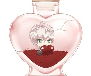 mystic messenger, unknown, and saeran choi image