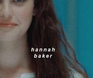 13 reasons why and hannah baker image