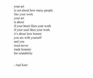 art, quotes, and rupi kaur image