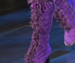 Anna Sui, runway, and shoes image
