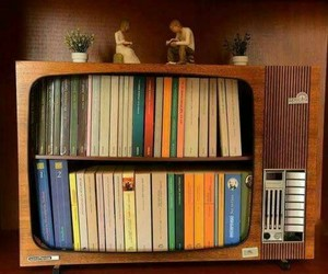 book and tv image