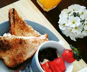 brekfast, good, and nutricion image