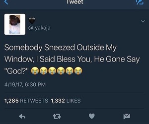 funny, lmao, and sneeze image
