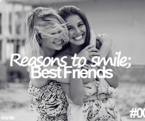 black and white, girl, and best friends image