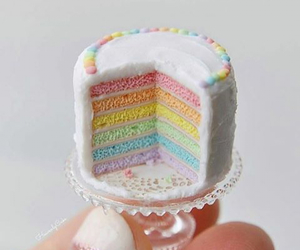 cake, cute, and little image
