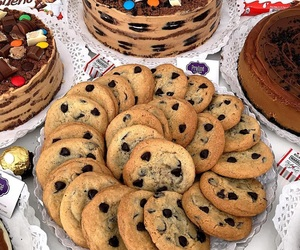 chocolate, fashion, and cookie cookies image