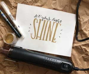 calligraphy, emboss, and gold image