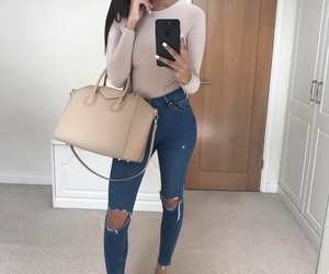fashion, iphone, and outfit image
