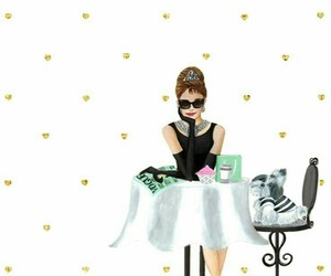 audrey hepburn, Breakfast at Tiffany's, and Breakfast at Tiffanys image