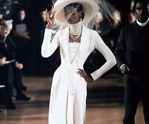 catwalk, Christian Dior, and runway image