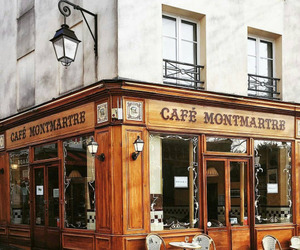 paris, cafe, and place image