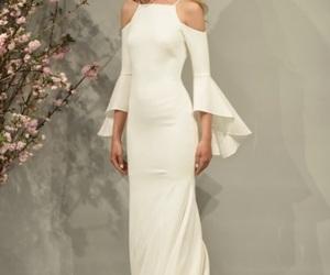 bride, elegant, and off the shoulder image