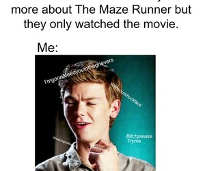 the maze runner, book, and lol image