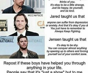 supernatural, family, and jared image