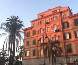 building, italy, and golden hour image