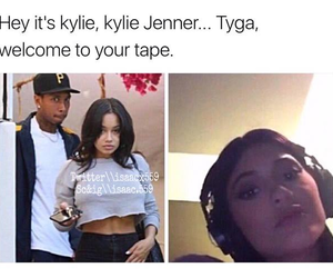 tyga, 13 reasons why, and kylie jenner image