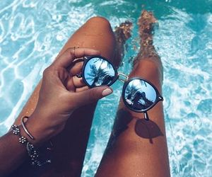 photography, sunglasses, and summer image