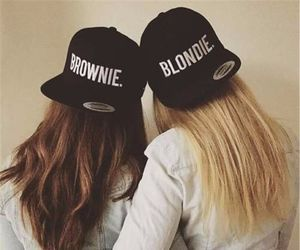 best friend and hats image