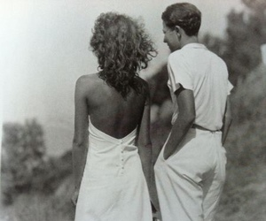couple and vintage image