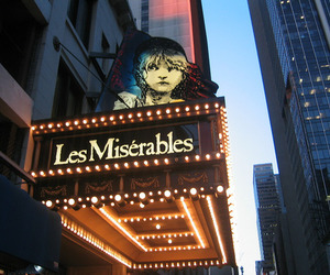 les miserables, broadway, and musical image