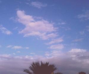 nature sky blue image