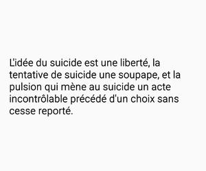 francais, liberte, and suicide image