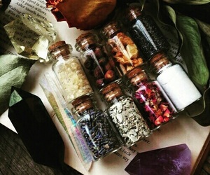 witch, wicca, and crystals image