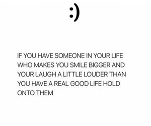 girl, laugh, and quote image