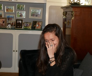 girl, laugh, and young image