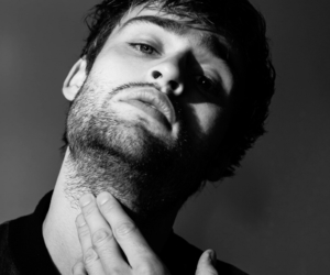 black and white, edit, and douglas booth image