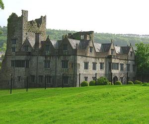 ireland, manor house, and irish castle image