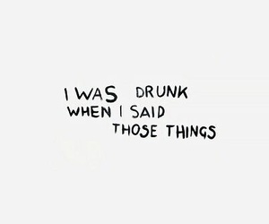 drunk and quotes image